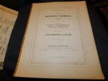ANTIQUE SHEET MUSIC BOOKLET 1909 4 ROMANY SONGS HERMAN LOHR CHAPPELL